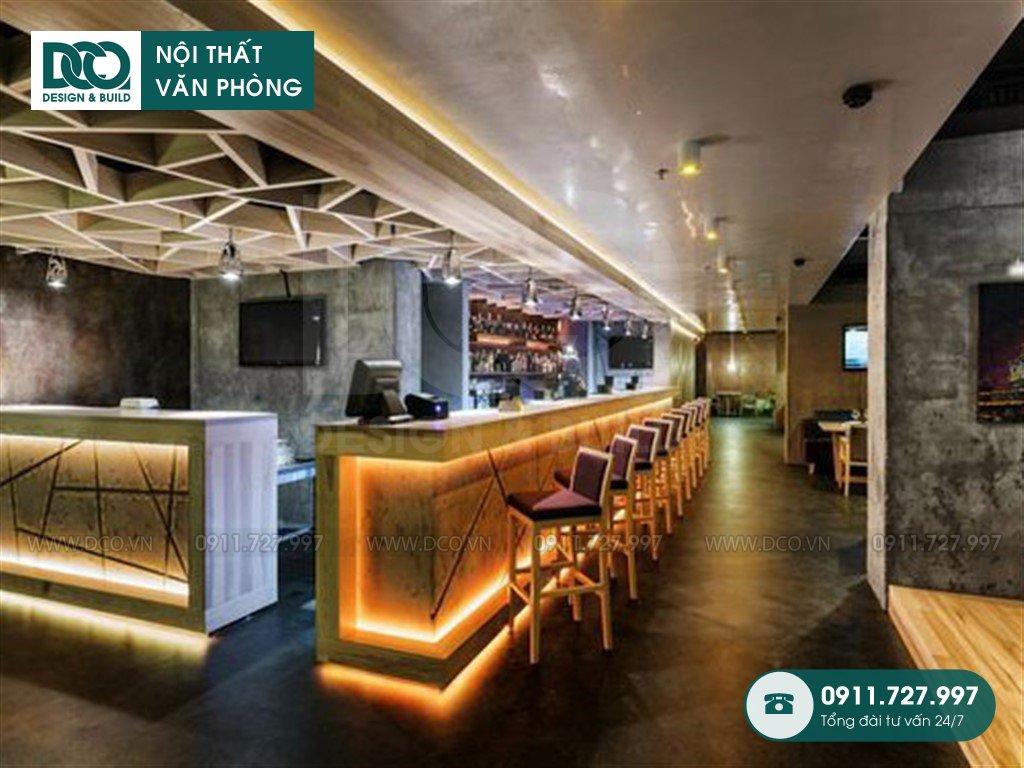 Dịch vụ dự toán thiết kế nội thất sảnh Lounge