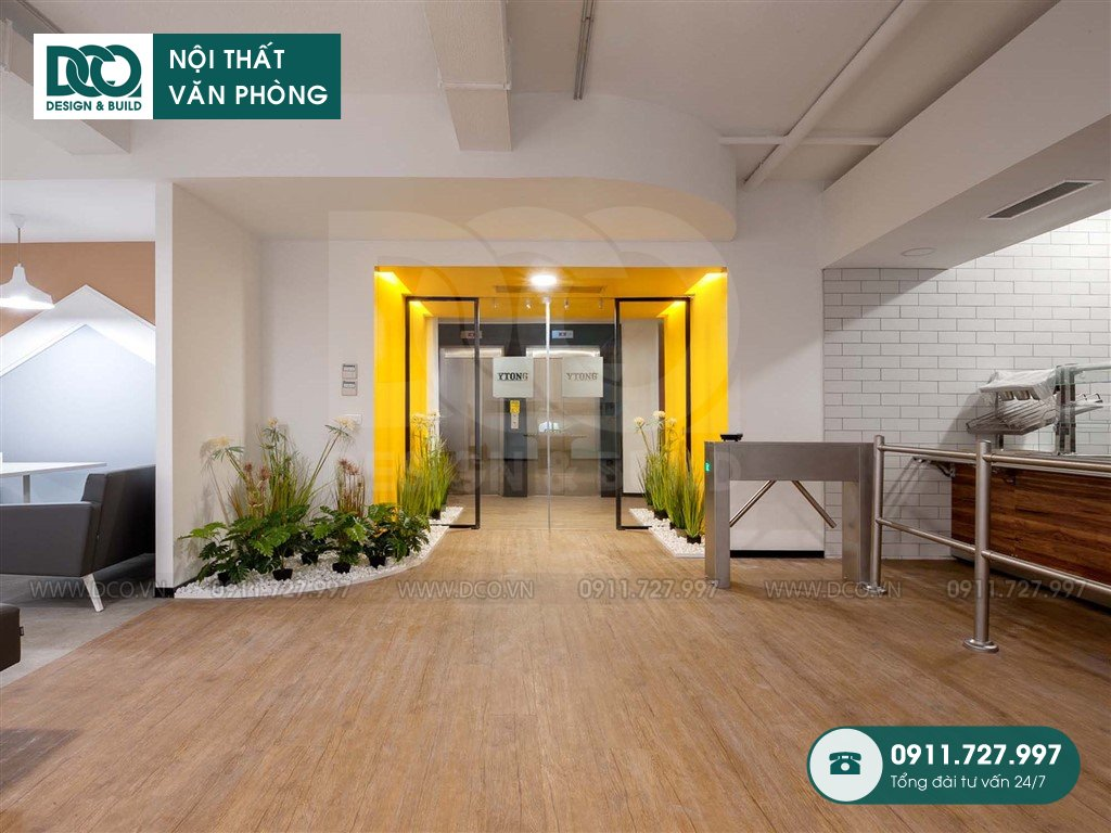 Dịch vụ dự toán thiết kế nội thất sảnh chính