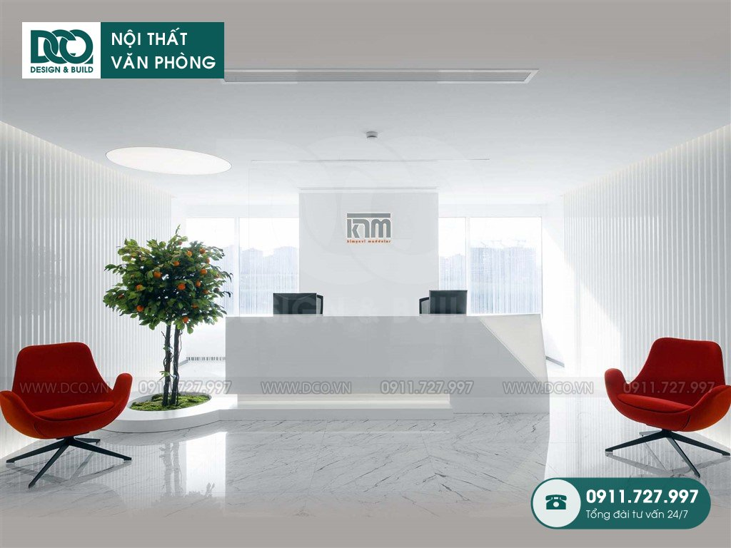 Dự toán thiết kế nội thất sảnh chính TP. HCM