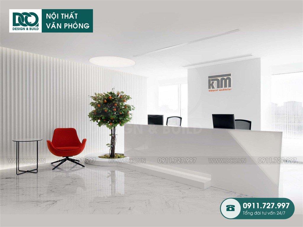 Dự toán thiết kế nội thất sảnh chính Hà Nội