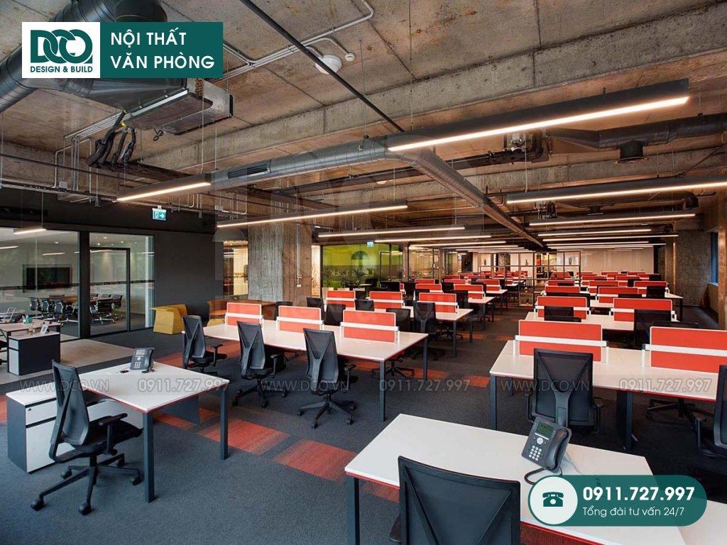 Bảng giá thành cải tạo nội thất không gian làm việc chung