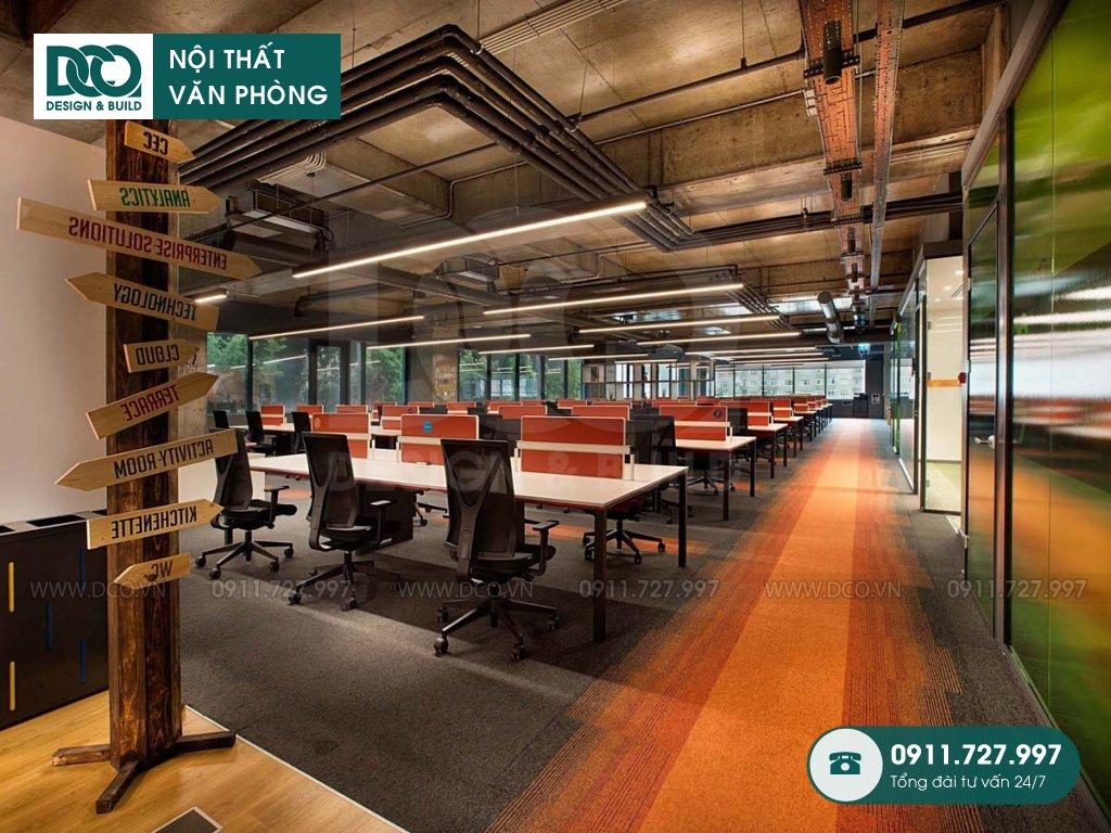 Giá thành cải tạo nội thất không gian làm việc chung trọn gói