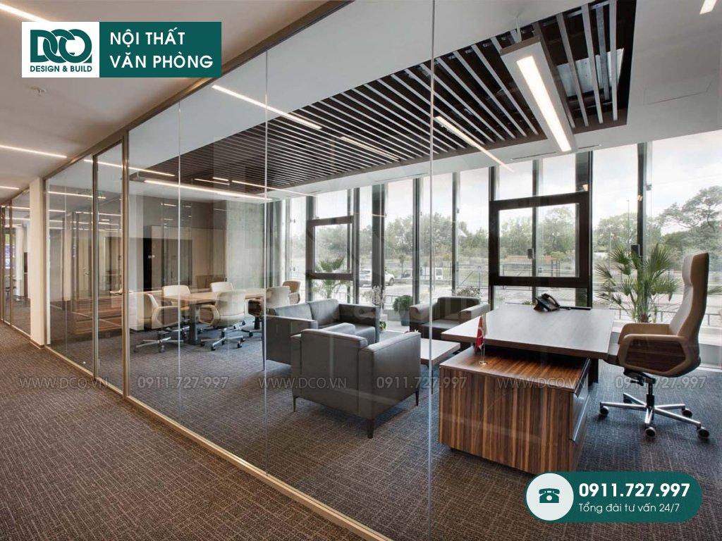Giá cải tạo nội thất phòng lãnh đạo