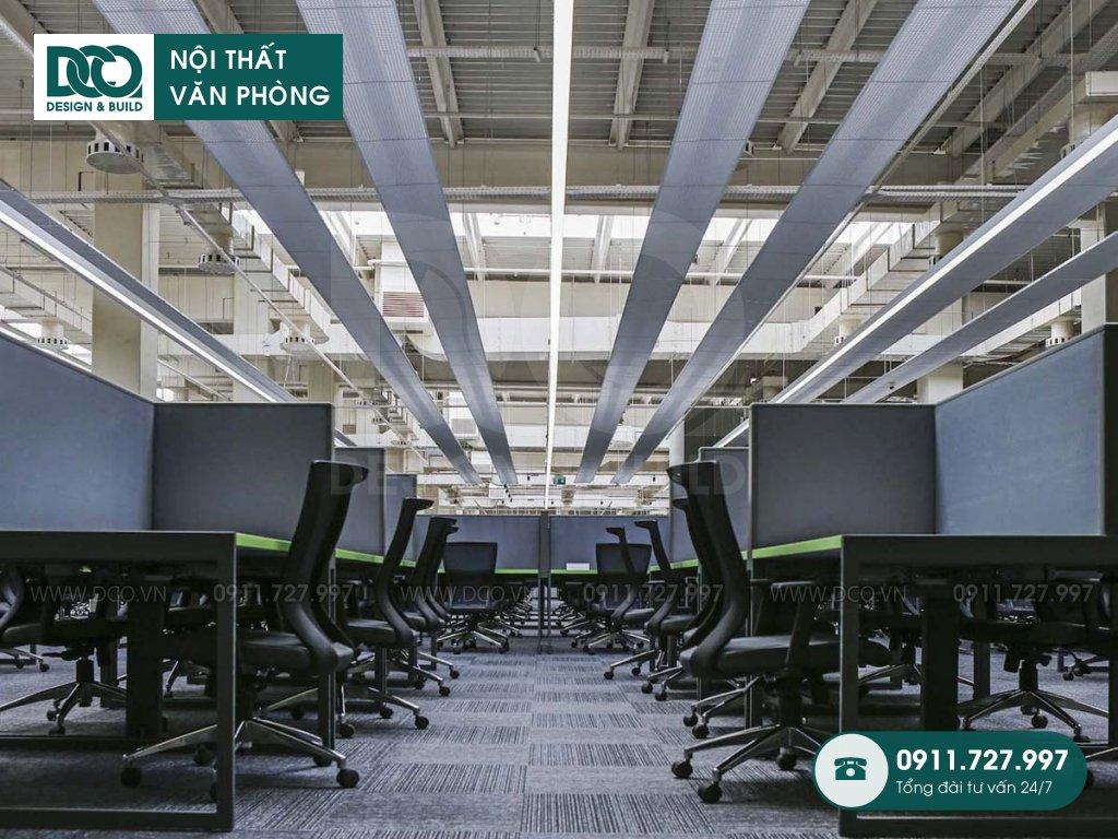 Giá thành thi công nội thất không gian làm việc chung tại Hà Nội