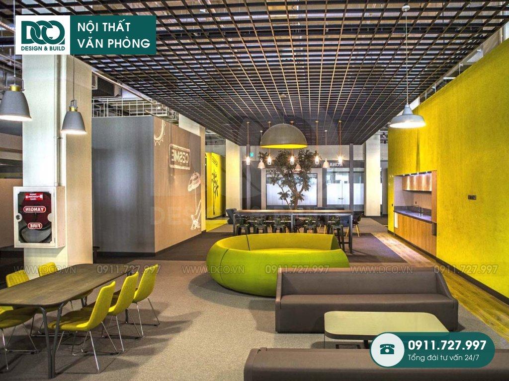 Giá thành thi công nội thất không gian làm việc chung tại TP. HCM
