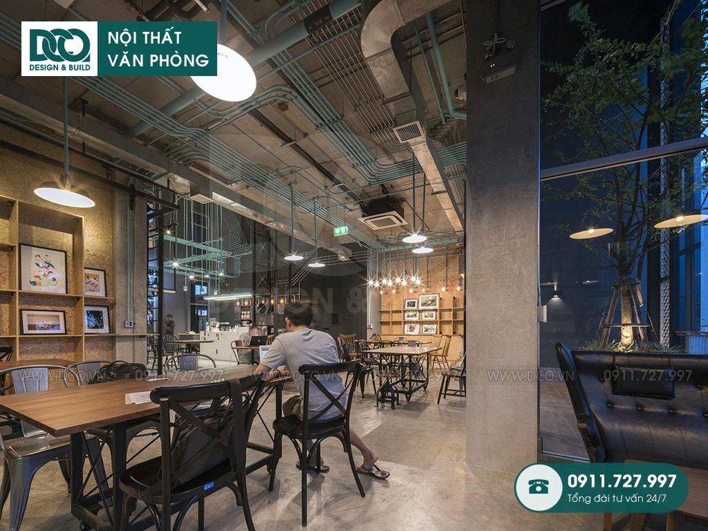 Thi công nội thất văn phòng tại Nguyễn Thái Bình