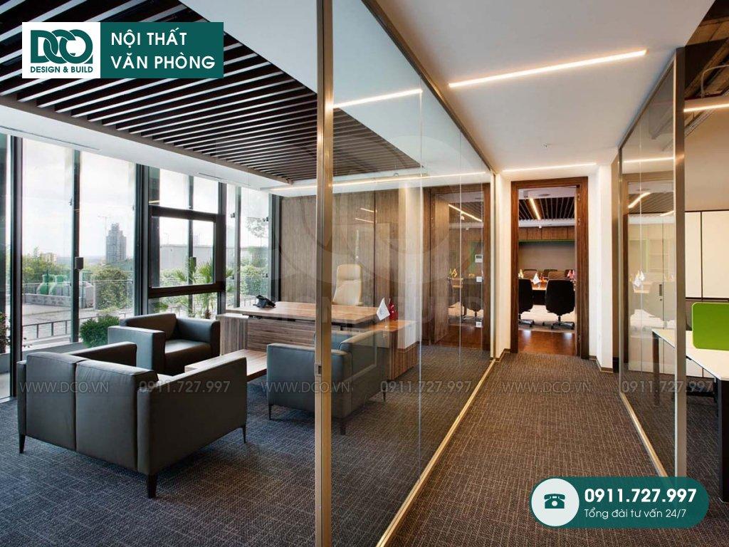Công ty thi công nội thất văn phòng tại Phước Long A