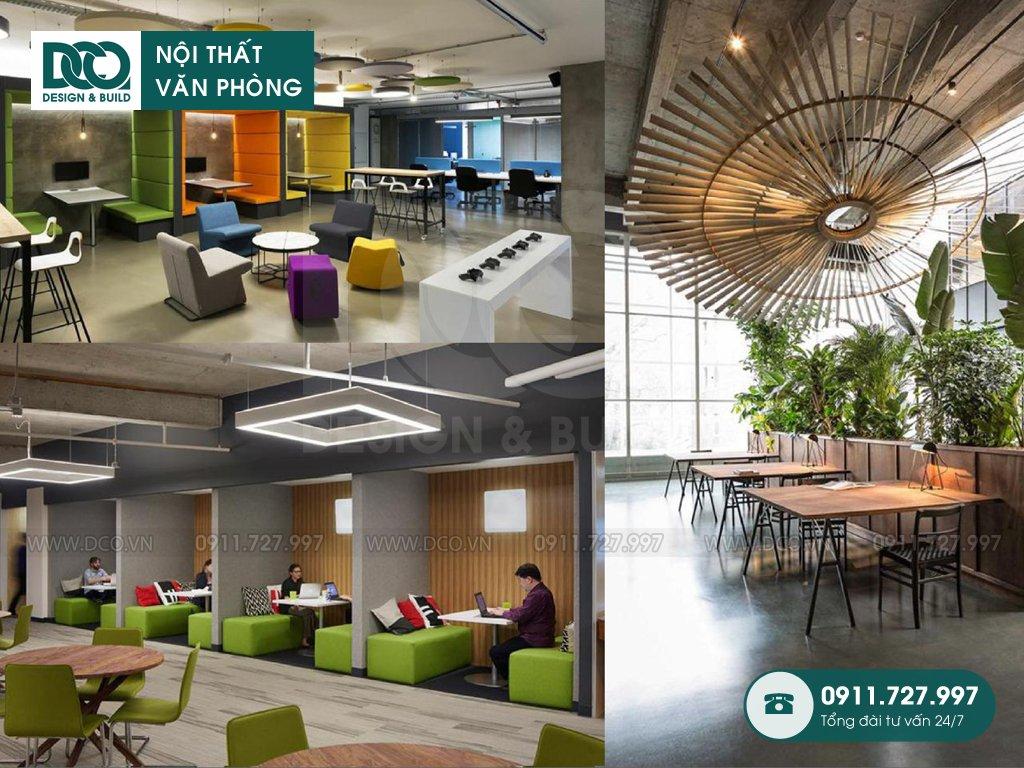 Dịch vụ thi công nội thất văn phòng tại Mai Động