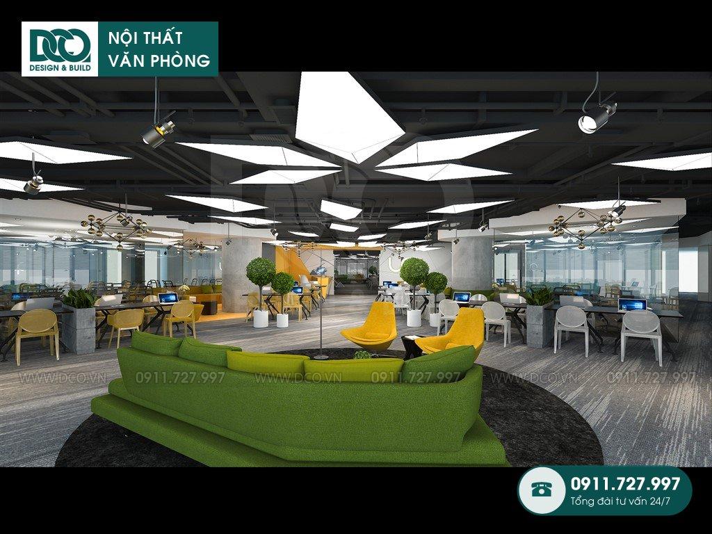 Thi công nội thất văn phòng tại phường Phú Mỹ