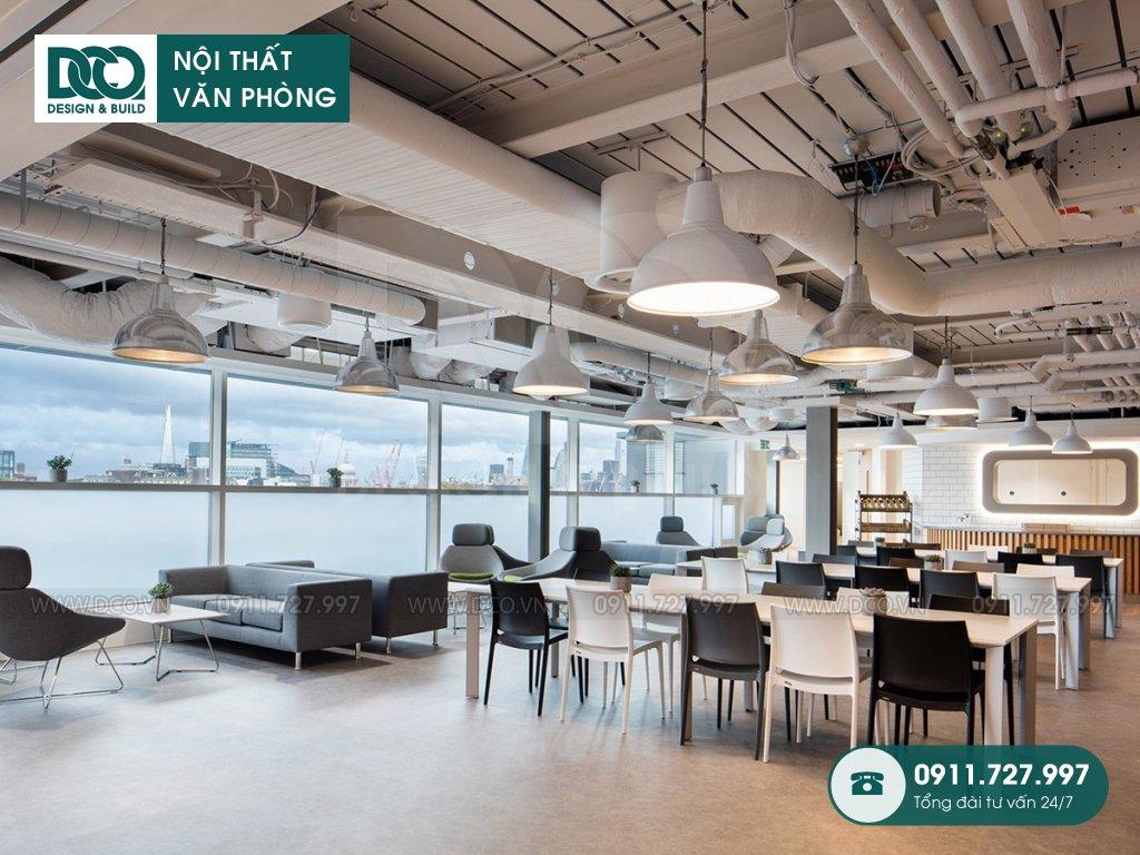 Báo giá giá thành thiết kế nội thất không gian làm việc chung