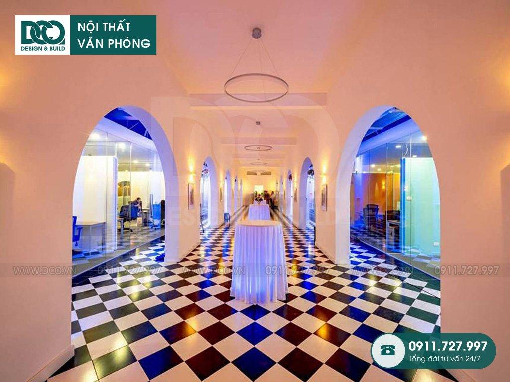 Giá thành thiết kế nội thất khu event tại Hà Nội