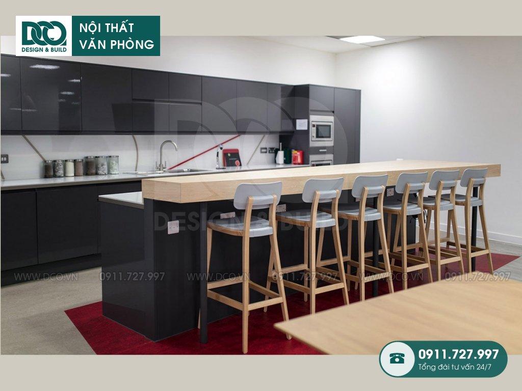 Giá thành thiết kế nội thất khu pantry tại Hà Nội