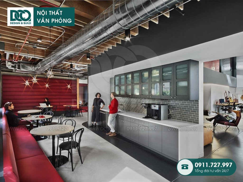 Giá thành thiết kế nội thất khu tiếp đón tại Hà Nội