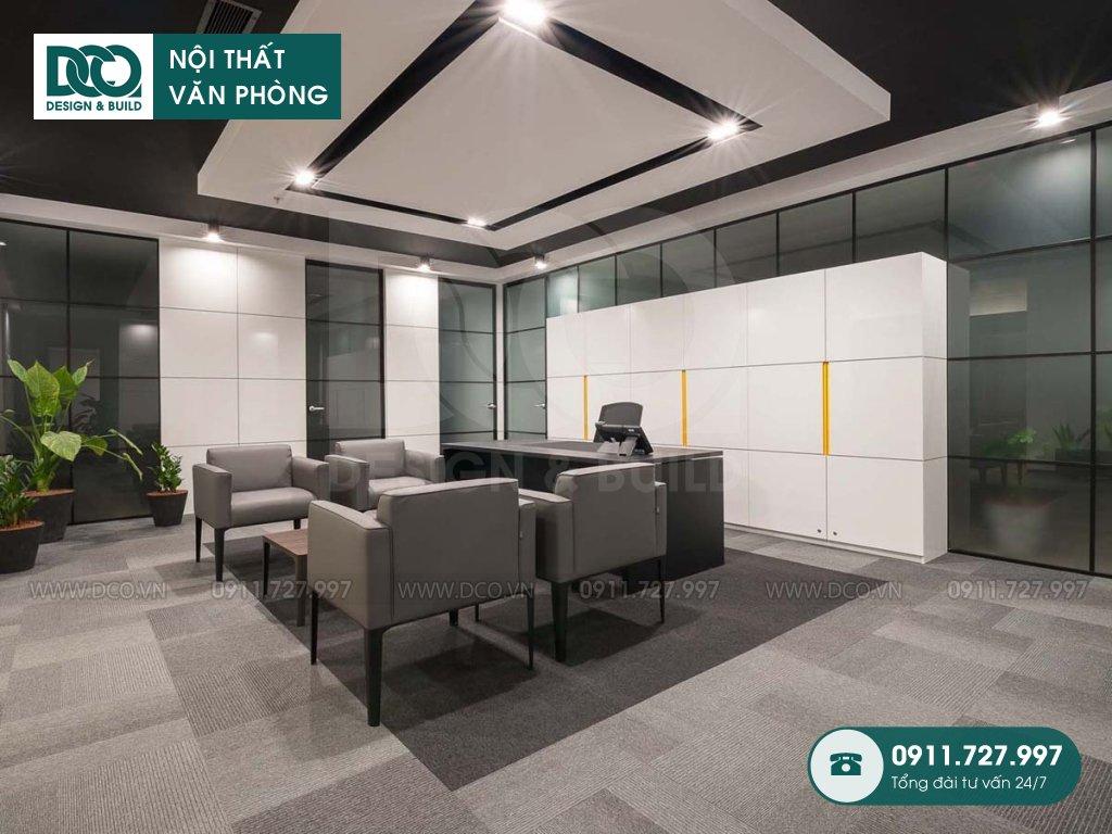 Báo giá thành thiết kế nội thất phòng giám đốc