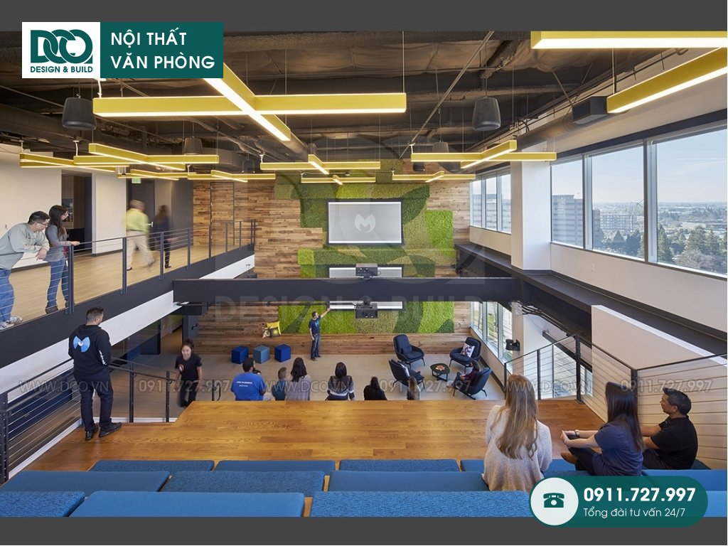 Giá thành thiết kế nội thất phòng hội thảo