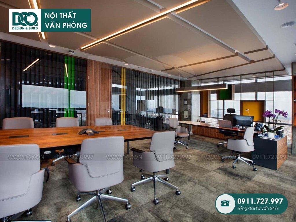 Báo giá chi phí thiết kế nội thất phòng lãnh đạo