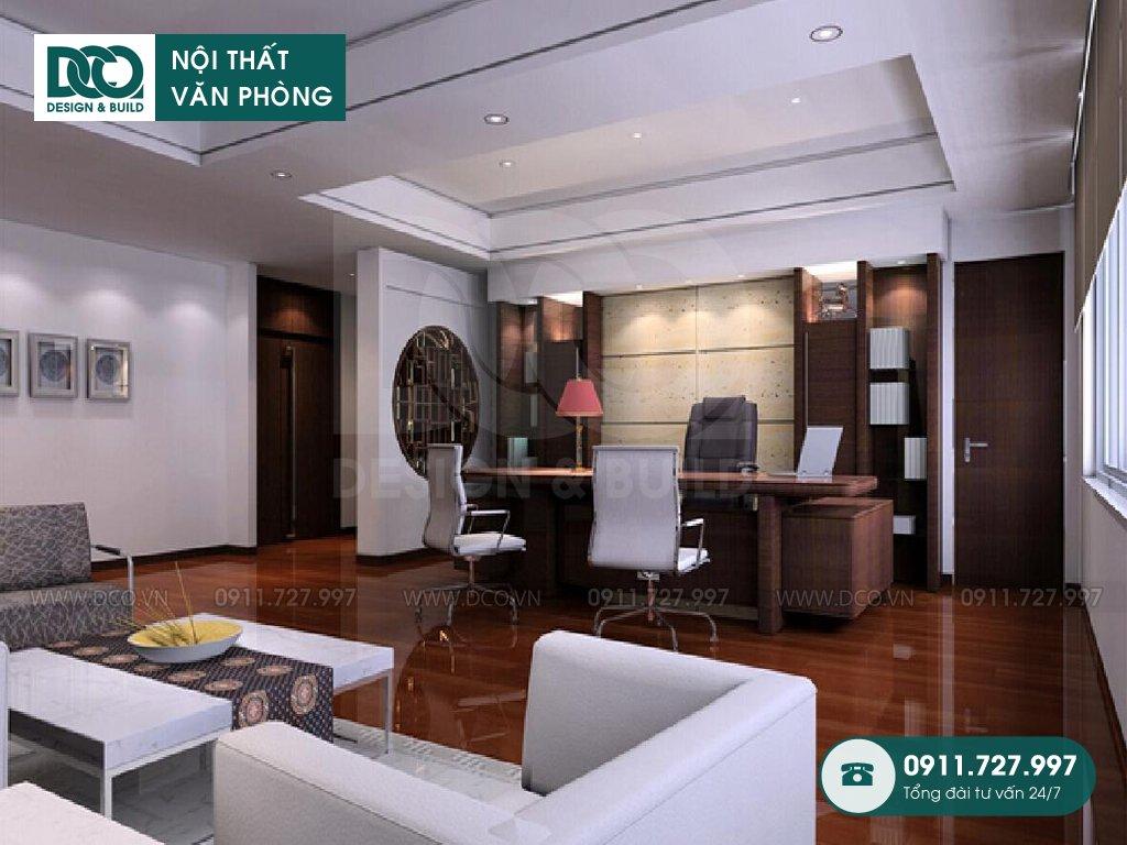Báo giá giá thành thiết kế nội thất phòng phó chủ tịch