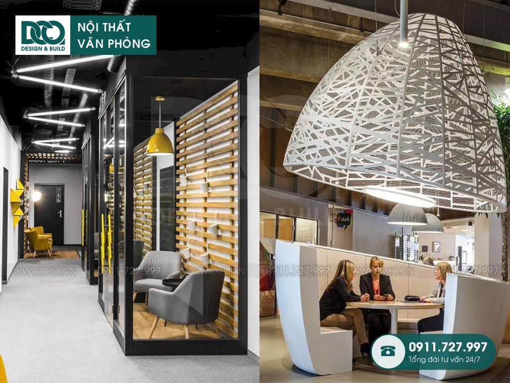 Khái toán cải tạo nội thất không gian sáng tạo