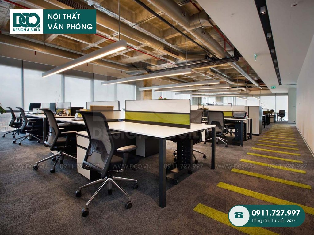 Khái toán sửa chữa nội thất không gian làm việc chung trọn gói