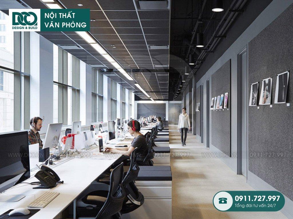 Khái toán sửa chữa nội thất không gian làm việc chung tại TP. HCM