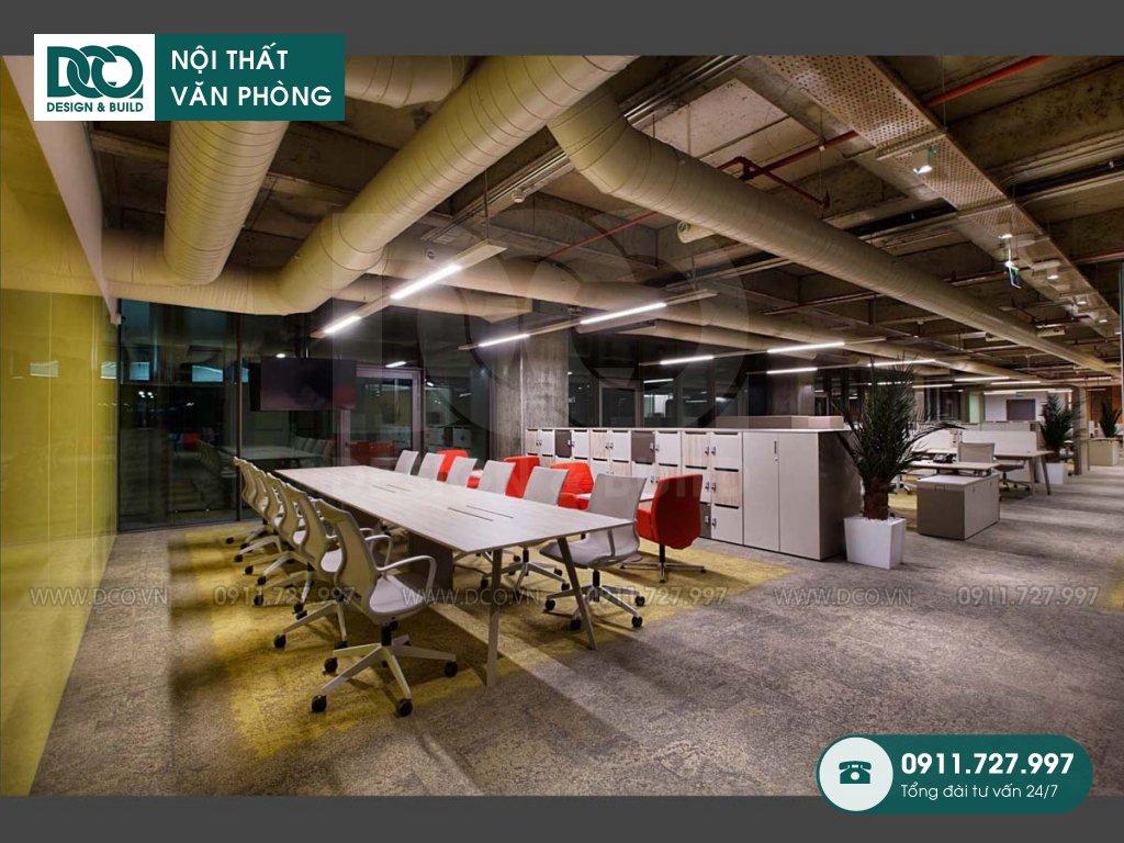 Bảng khái toán thiết kế nội thất không gian làm việc chung