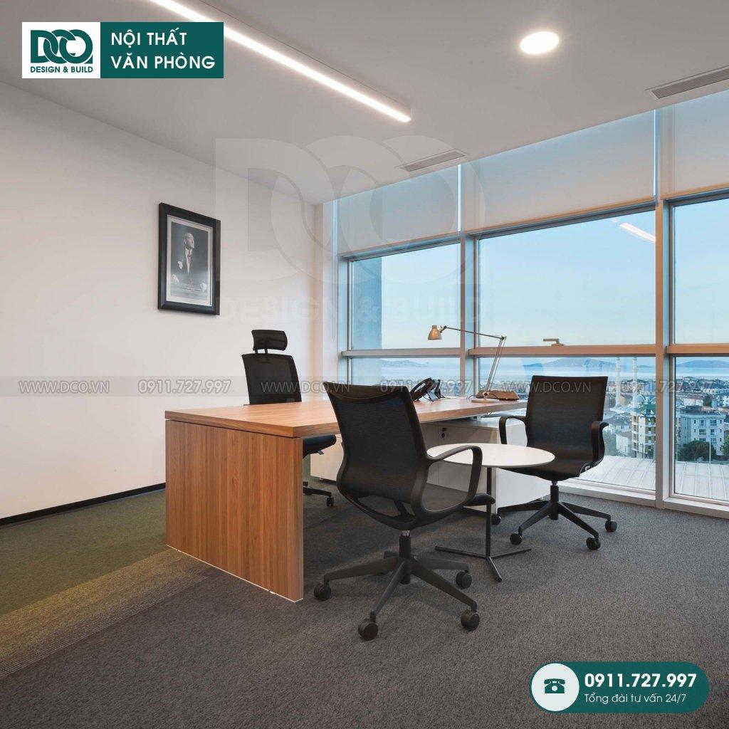 Khái toán thiết kế nội thất phòng chủ tịch