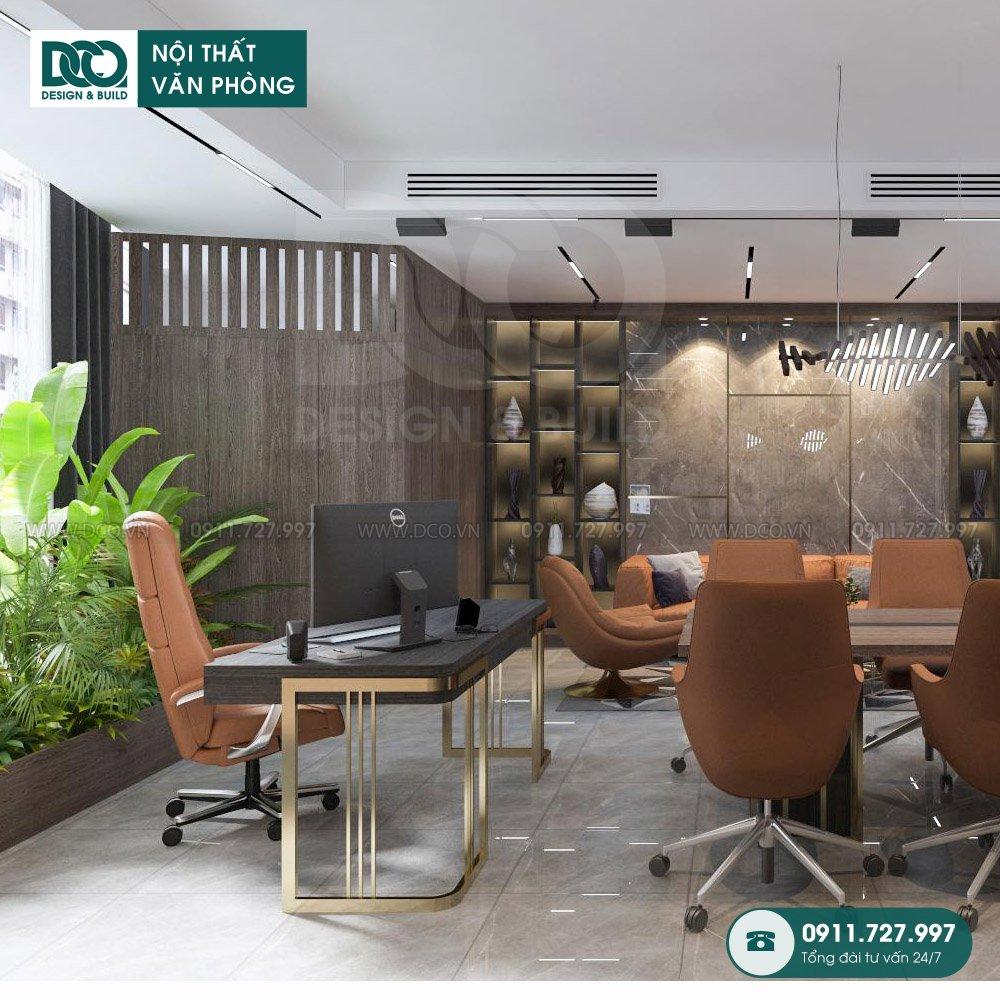 Khái toán thiết kế nội thất phòng phó chủ tịch trọn gói