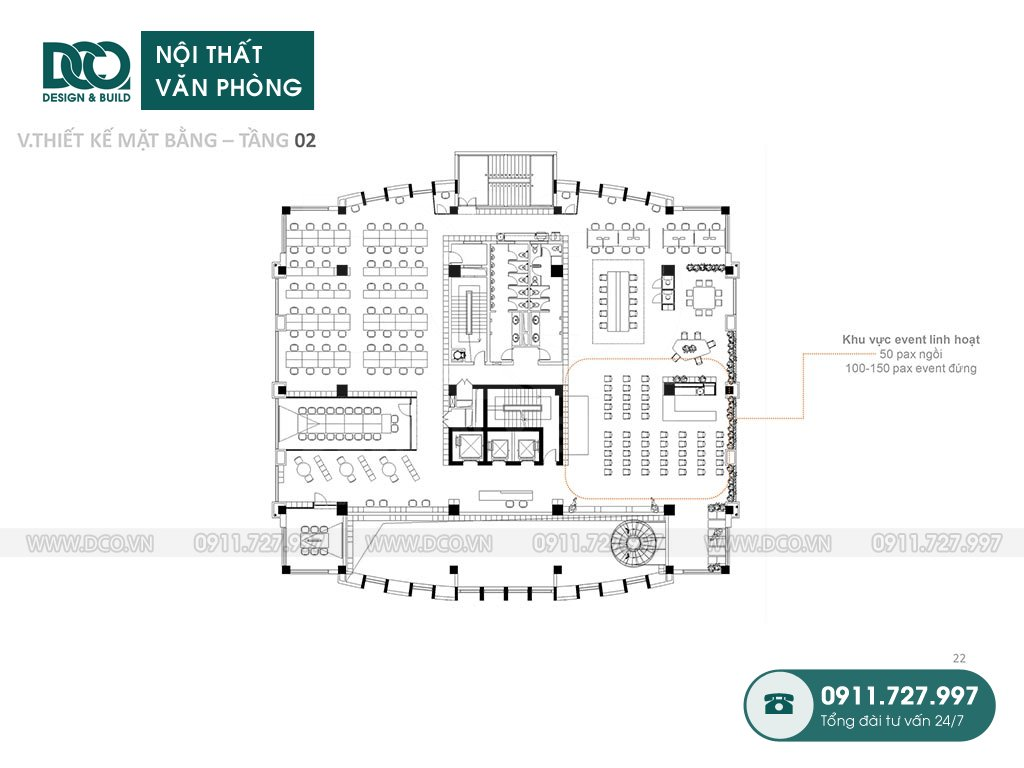 Layout tầng 2