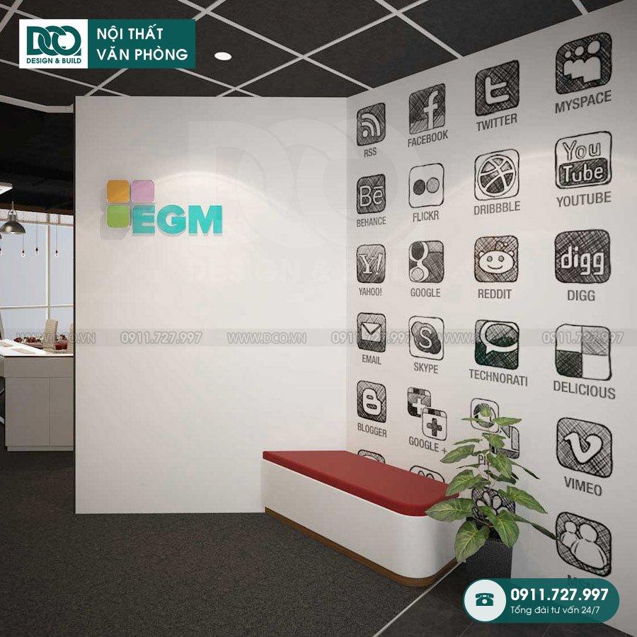 Bản vẽ thiết kế văn phòng truyền thông