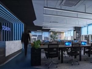 Dự án thiết kế văn phòng công nghệ 195m2 tại tòa Mỹ Đình Plaza