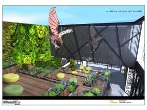 Dự án thiết kế văn phòng 2550m2 CenXSpace Novaland