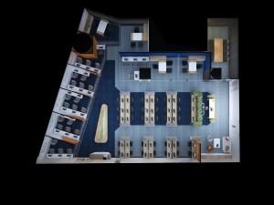 Thiết kế nội thất Coworking Space khu 1 GNG Media