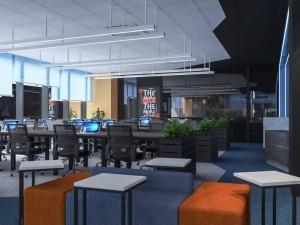 Thiết kế nội thất Coworking Space tòa nhà Shinkawa