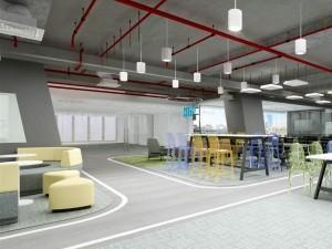 Thiết kế nội thất Coworking Space Leadvisors Tower