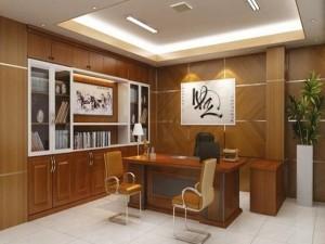 Dự toán thiết kế nội thất phòng chủ tịch