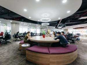 Thi công nội thất Coworking Space tầng 21 VP Bank