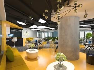 Thi công nội thất văn phòng 282 chỗ tầng 22 VP Bank