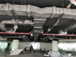 Thi công nội thất văn phòng 1000m2 tầng 22 VP Bank