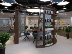 Thiết kế nội thất Coworking Space Golden Net dự án 2