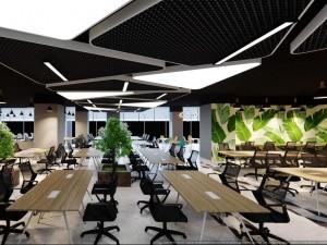 Mẫu thiết kế nội thất Coworking Space