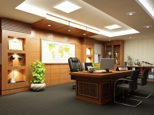 Bản vẽ cải tạo nội thất phòng phó chủ tịch