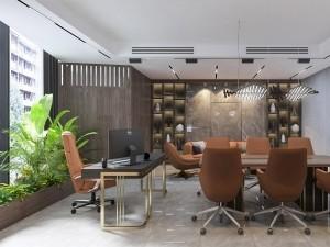 Khái toán thiết kế nội thất phòng phó chủ tịch