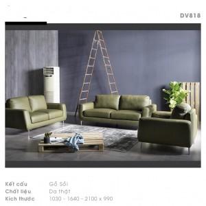 Mẫu sofa văng da thật đẹp nhất 2021
