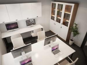 Mẫu nội thất văn phòng 30 chỗ 81A Trần Quốc Toản