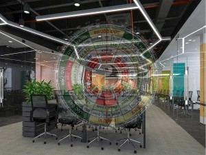 Thiết kế văn phòng theo phong thủy đón Tài Lộc tăng Vượng Khí