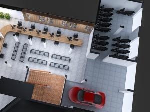 Mẫu nội thất văn phòng 250m2 số 10 Đặng Dung