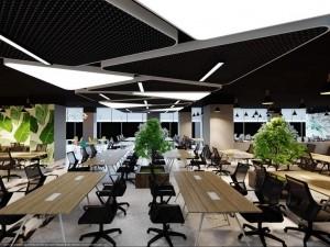 Dự án thiết kế văn phòng 1520m2 tại phường Bạch Đằng