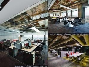 Dự án thiết kế văn phòng 285 chỗ ngồi tại Dolphin Nguyễn Hoàng