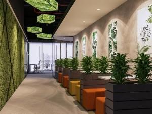 Mẫu nội thất văn phòng 1200m2 Việt Đức Complex