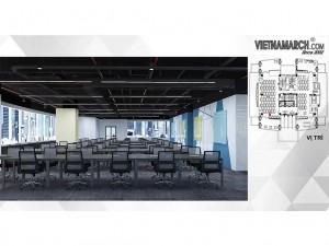 Dự án thiết kế văn phòng 810m2 tại quận Cầu Giấy